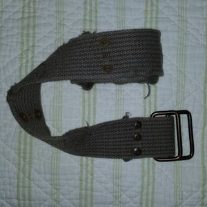 Canvas Belt Military army green